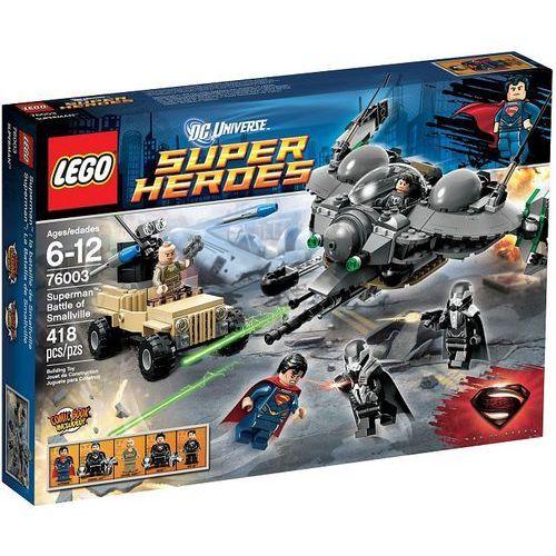Lego SUPER HEROES Bitwa o smallville 76003