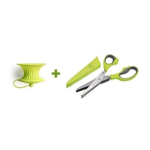Kitchen Craft - Zestaw nożyce do ziół i wyciskacz do cytryn