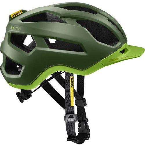Mavic xa pro kask rowerowy mężczyźni zielony/oliwkowy m | 54-59cm 2018 kaski mtb (0889645541679)