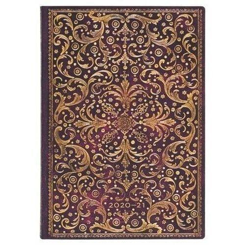 Paperblanks Kalendarz książkowy midi 2020-2021 aurelia (9781439742501)