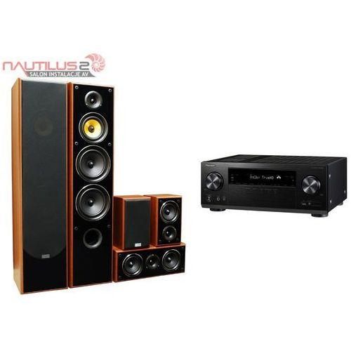 Taga harmony  tav-606 v.3 czarny + pioneer vsx-831 czarny + przewód pure acoustic ca-250c gratis!