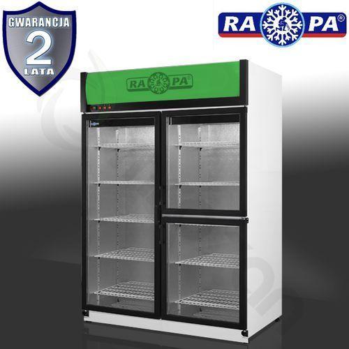 Szafa chłodnicza przeszklona RAPA SCh-S 1200 3D AG, SCh-S 1200 3D AG
