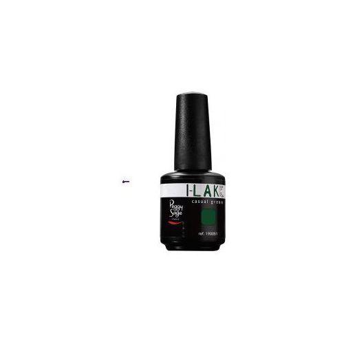 i-lak soak off gel polish (w) lakier do paznokci casual green 15ml marki Peggy sage