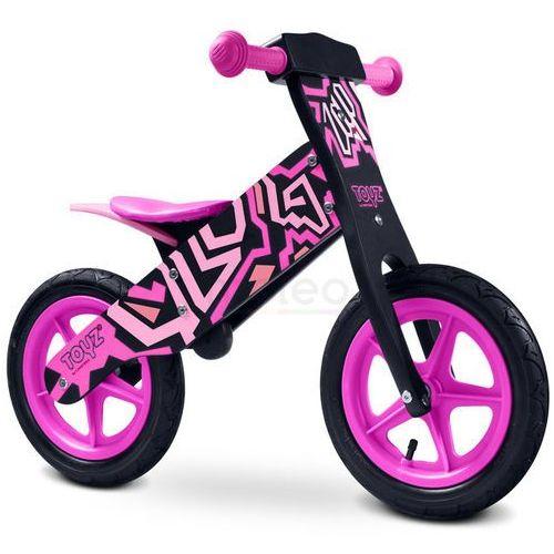 Caretero Rowerek biegowy ZAP pink TOYZ-0203