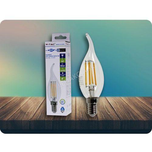 E14 LED RETRO FILAMENT Żarówka 4W, 2700K + Bezpłatna natychmiastowa gwarancja wymiany!