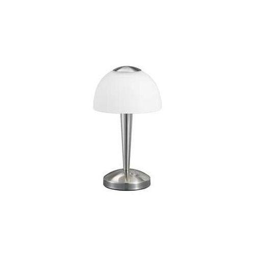 Trio 5299 lampa stołowa led nikiel matowy, 1-punktowy - nowoczesny - obszar wewnętrzny - ventura - czas dostawy: od 2-3 tygodni