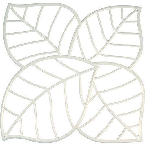 Panel dekoracyjny Leaf biały 4 szt. KZ-2043525, 2043525