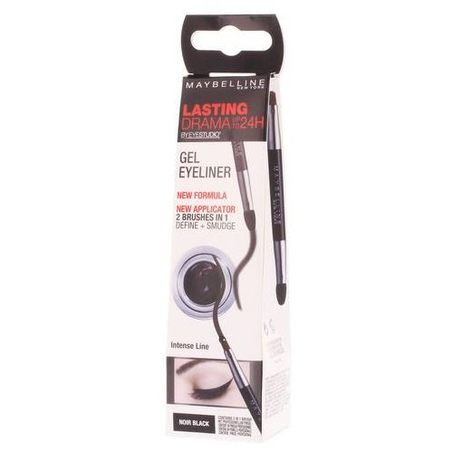 Maybelline  eyeliner lasting drama™ eyeliner w żelu odcień 01 intense black 2,8 g (3600530588039)