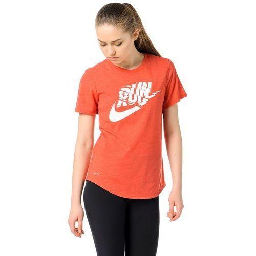 Koszulka Nike Run Orgametric Swoosh Tee 776636-672, kolor czerwony