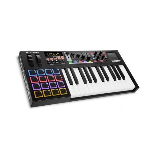 M-Audio Code 25 Black klawiatura sterująca, kolor czarny