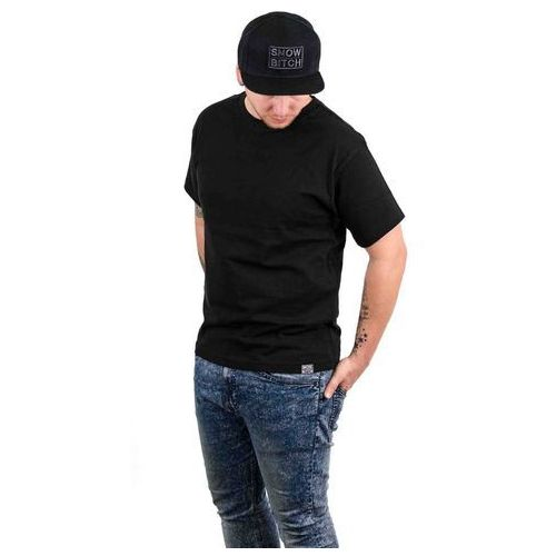 koszulka SNOWBITCH - Blank Black (BLACK) rozmiar: L, kolor czarny