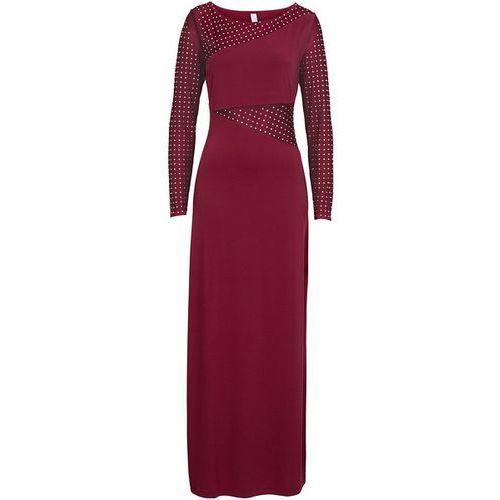 Sukienka wieczorowa bonprix czerwony, kolor czerwony