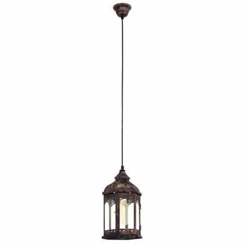 vintage lampa wisząca miedź, 1-punktowy - vintage - obszar wewnętrzny - vintage - czas dostawy: od 10-14 dni roboczych marki Eglo