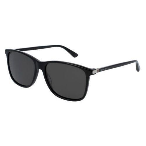 Okulary Słoneczne Gucci GG0017S Polarized 001, kolor żółty