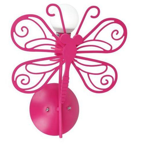 Light prestige Motylek kinkiet lp-14030/1w 39cm czerwony