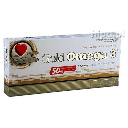 Kapsułki Olimp Gold Omega-3 60 kaps. Olej rybii EPA DHA 13065