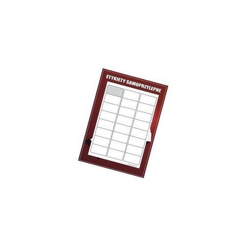 Etykiety samoprzylepne białe 63.5x33.9/24s ZAO 100