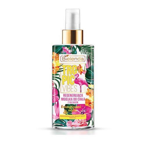 tropic vibes regenerująca mgiełka do ciała frangipani & róża 150ml marki Bielenda