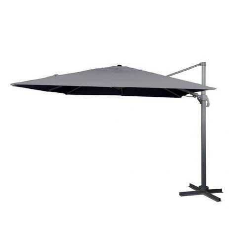 Makers parasol verona sq 3×3 m, szary