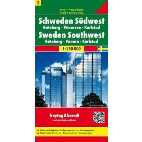 Szwecja cz.2 część południowo-zachodnia Göteborg-Vänersee-Karlstad, 1:250 000, oprawa twarda. Tanie oferty ze sklepów i opinie.