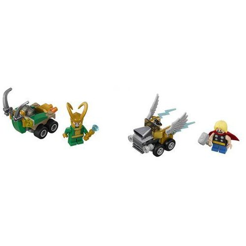 76091 THOR VS. LOKI (Mighty Micros: Thor vs. Loki) - KLOCKI LEGO SUPER HEROES