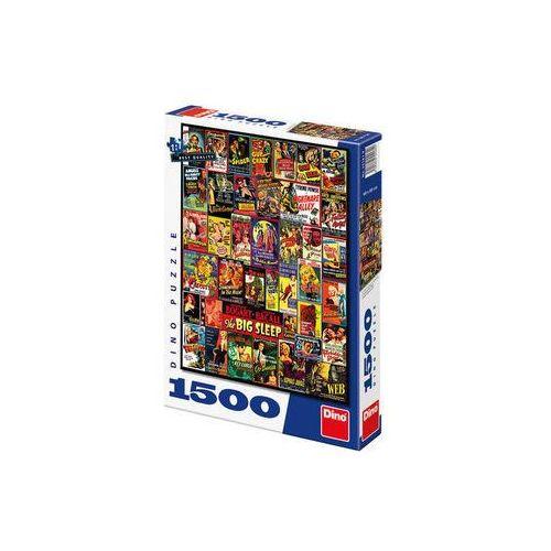 Filmové plakáty - puzzle 1500 dílků marki Neuveden