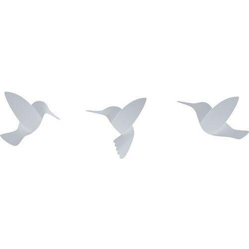 Umbra Dekoracja ścienna hummingbird biała 9 szt.
