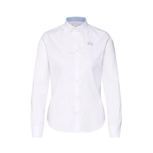 La martina bluzka 'shirt l/s oxford 50/1 30/2 str' biały