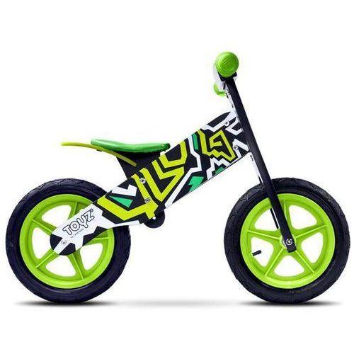 Rowerek biegowy dla dzieci ZAP BLACK/GREEN