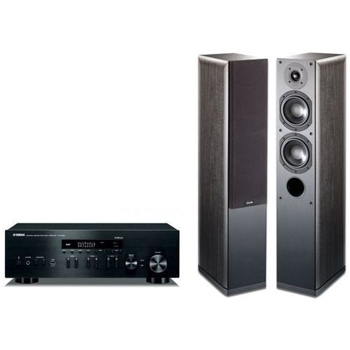 Zestaw stereo YAMAHA R-N402D + Indiana Line Nota 550 X Czarny + DARMOWY TRANSPORT! (2900474339782)