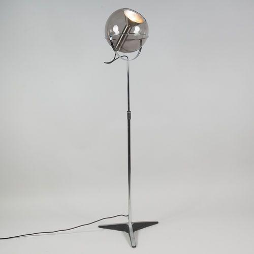 Lampa podłogowa Strike czarna