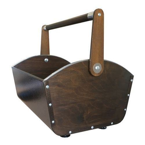 Kosz na drewno miedziany, Knap_2699494