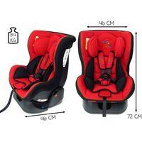 Kindersafe Fotelik samochodowy 0-18 kg  baby ge-b - czerwony (5902921964544)