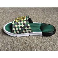 Klapki juice7 clot x slide zielone/białe/czarne/złote, Adidas
