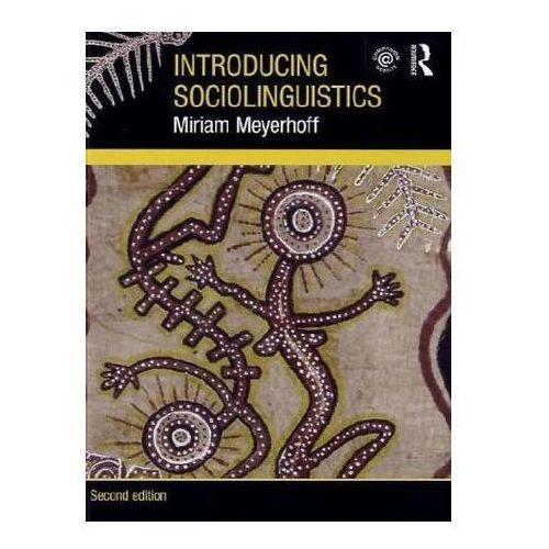 Introducing Sociolinguistics (9780415550062)