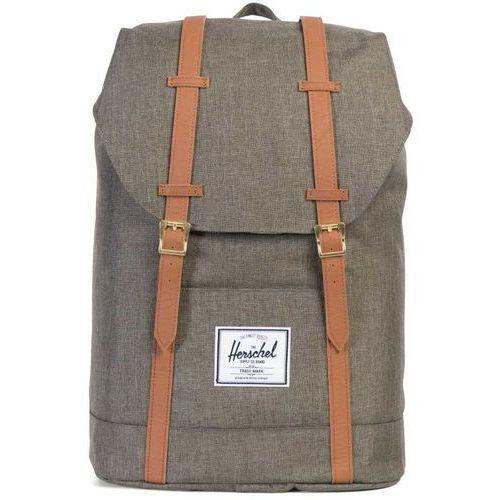 Herschel retreat plecak brązowy 2018 plecaki szkolne i turystyczne (0828432123049)