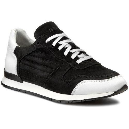 Sneakersy - mmfw00557/le300004 nero 9000 marki Antony morato