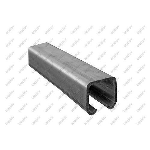 Profil do bramy przesuwnej Zn, 33x34x2mm, L6m