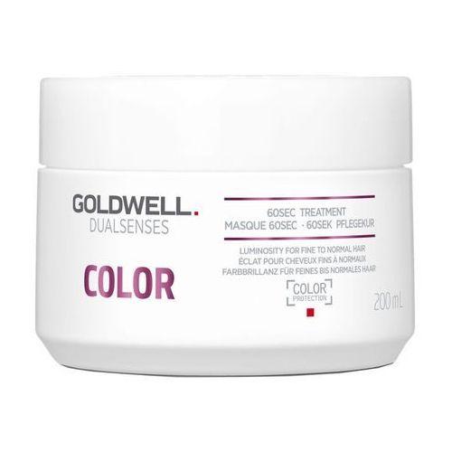Goldwell Dualsenses Color maska regenerująca dla włosów normalnych po delikatnie farbowane (60sec Treatment - Color Protection) 200 ml
