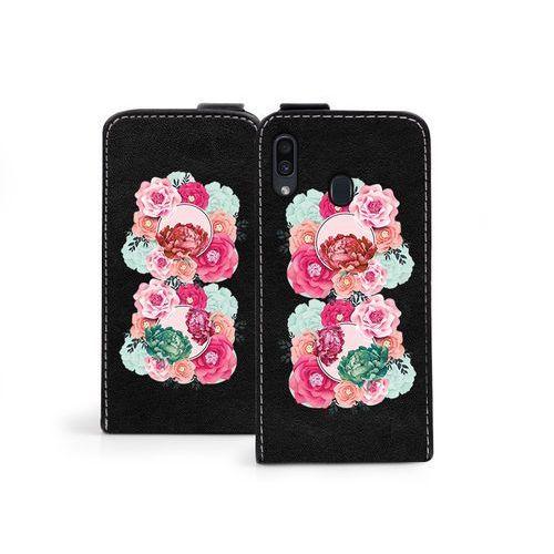 Samsung galaxy a30 - etui na telefon flip fantastic- róże marki Etuo flip fantastic