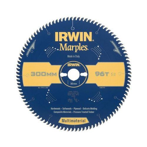 Tarcza do pilarki tarczowej 300 mm/96t/30 multimaterial marki Irwin marples