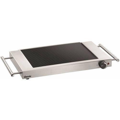 Bartscher płyta grillowa elektryczna ryflowana nastawna   310x190mm   1200w - kod product id