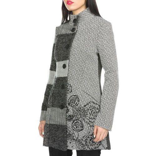 Desigual płaszcz damski 36 szary (8434486191020)
