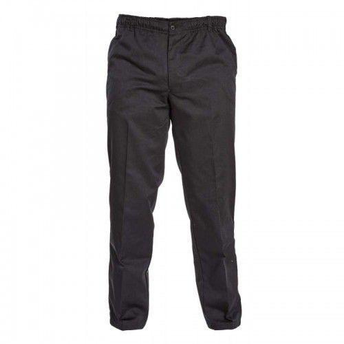 D555 basilio duże spodnie męskie czarne marki Duke