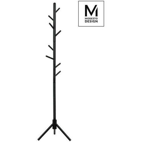 Sofa.pl Modesto wieszak stojący stick czarny - drewno bukowe