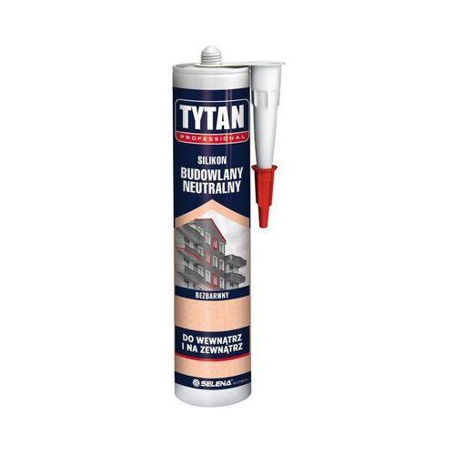 Silikon BUDOWLANY NEUTRALNY 280 ml Bezbarwny TYTAN (5902120176526)