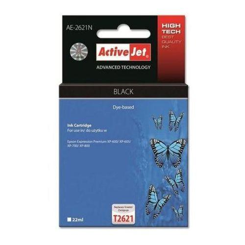 Activejet tusz AE-2621N / T2621 (black) Szybka dostawa! Darmowy odbiór w 20 miastach!