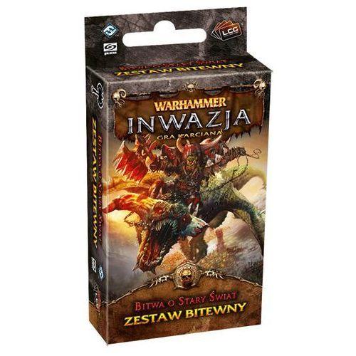 OKAZJA - Fantasy flight games Warhammer inwazja: bitwa o stary świat (9781616615147)