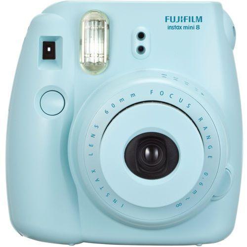 instax mini 8 niebieski wyprodukowany przez Fujifilm
