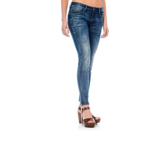Timeout jeansy damskie 25/30 niebieski, jeans